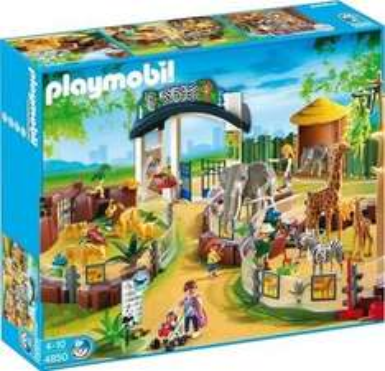 """[CENTERSHOP] Playmobil 4850 """"Großer Tierpark"""" für 49,99€ (Idealo: 169,25€)"""