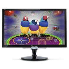 "View­So­nic VX2452mh - 24"" Full-HD Gaming Mo­ni­tor für 141,99 € @Cyberport.de"