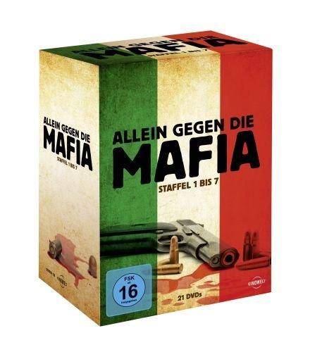 Allein gegen die Mafia - Staffel 1 bis 7 (21 Discs) für 55€ @Buecher.de