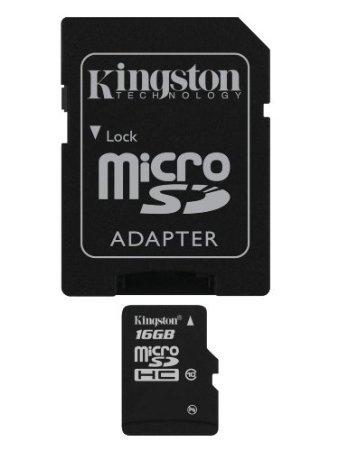 Kingston microSDHC 16GB Class 10 (SDC10/16GB) für 7,13 EUR inkl. Versand