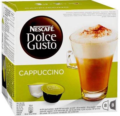[Lokal/Kaufland] Nestlé Nescafe Dolce Gusto Cappuccino Kaffeekapseln 3,77€!