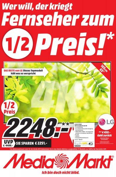 [Mediamarkt] LOKAL Raum Ludwigshafen Lg 65 UF 9509 für 2248€