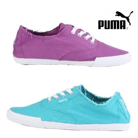 PUMA Sneaker Tekkies Brites, Farbe: Türkis oder Violett für 14,89 € @eltronics.de