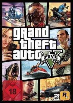 Grand Theft Auto V (PS3) PSN 24,99 €