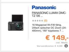 PANASONIC LUMIX DMC-TZ 56