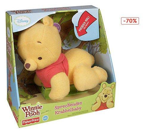 [myToys] SALE: Mattel Fisher-Price Sprechendes Krabbelbaby Winnie the Pooh für 11,99 € (70% reduziert!!!)