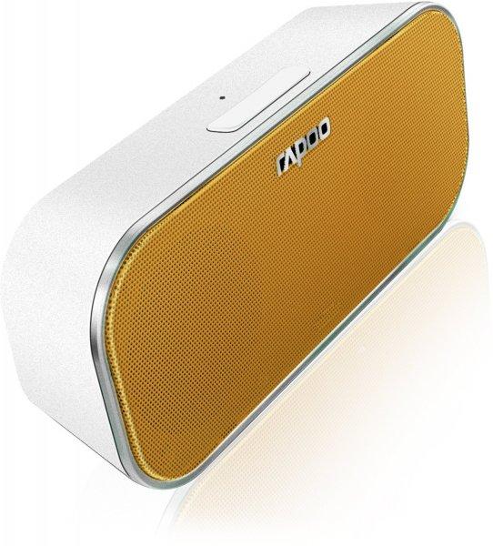[Amazon] Rapoo 12573 A500 in Gelb und Grün Bluetooth Portable NFC Lautsprecher für 29€ inkl. Versand