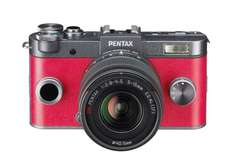 Pentax Q-S1 Kit 5-15mm rot für 242,29 € @Amazon.fr
