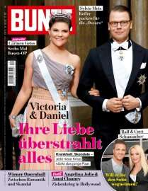 """26 Ausgaben der Zeitschrift """"Bunte"""" zum Preis von einer"""