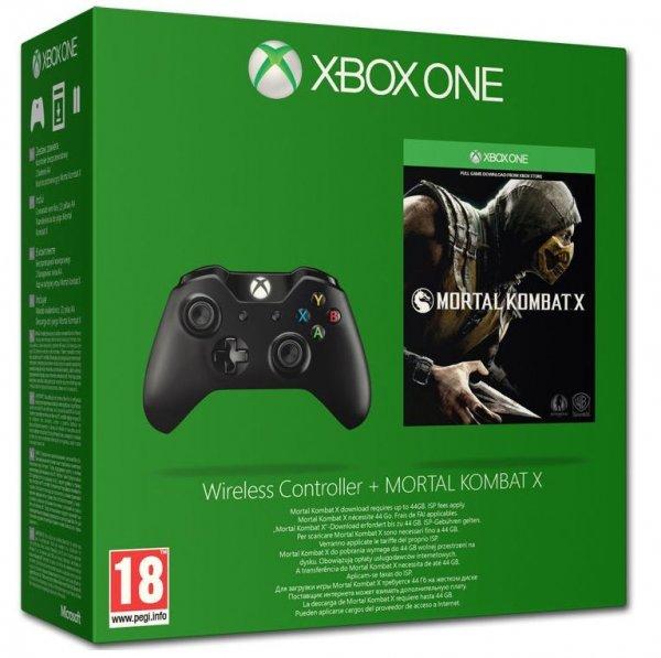 Xbox One Controller + Mortal Kombat X + 14 Tage Xbox One Gold für 76,95 € @Coolshop.de