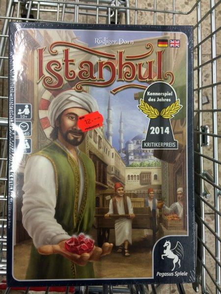 [LOKAL real Dudweiler, evtl. bundesweit] Istanbul - Kennerspiel des Jahres 2014 und andere drastisch reduziert