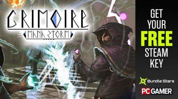 [Steam] Grimoire: Manastorm @ PCGamer