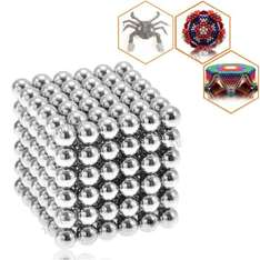 216 x 5mm Buckyballs Magic Magnet Magnetic DIY Balls Sphere Neodymium Cube Puzzle Toy bei Allbuy