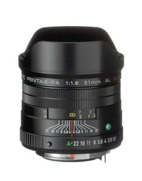 Pentax Objektiv 31mm SMC FA 1.8 AL Limited schwarz für 921,18 € @Amazon.fr