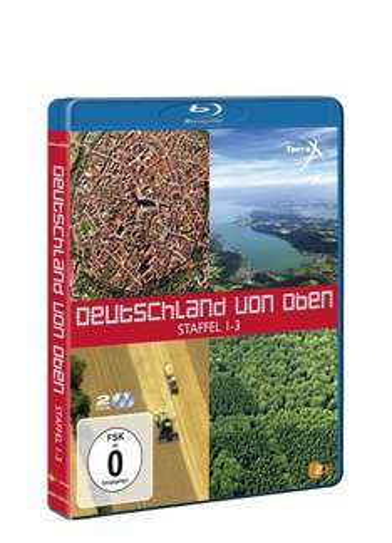 (amazon prime) Deutschland von oben - Staffel 1-3 [Blu-ray]