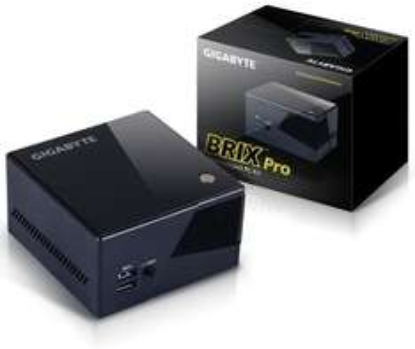 "Gigabyte Barebone BRIX Pro GB-BXi7-4770R (Intel Core i7-4770R, Iris Pro 5200 Grafik, 2x DDR3 SO-DIMM, WLAN, BT, 1x 2,5"" HDD für 488,25€ @Amazon.fr"