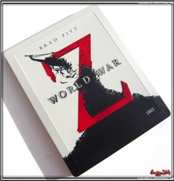 World War Z 3D Blu-Ray Steelbook - Entertainment Shop Exclusive für 14,08€ @amazon.fr