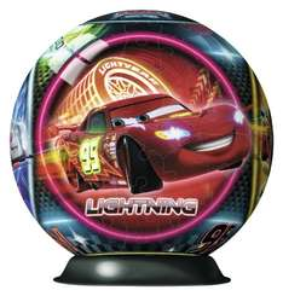 Ravensburger 12250 - Disney Cars Neon, 108 Teile 3D Puzzle-Ball für 8,20€ bei Amazon (Prime)