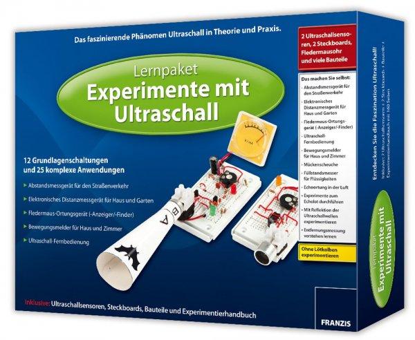 [jokers.de] 3 Franzis Lernpakete Elektronik - Wind, Solar, Ultraschall - je 18,98 (Baukasten)