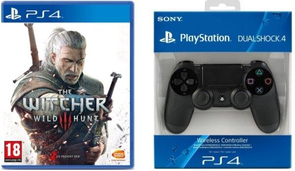 The Witcher 3: Wild Hunt (PS4) + DualShock 4 Controller für 79,99€