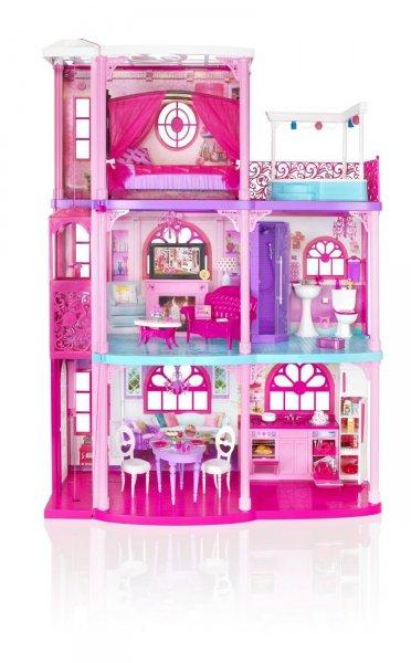 Mattel Barbiehaus Barbie Haus Spielhaus Puppenhaus Traumvilla, 329,99 EUR @ amazon