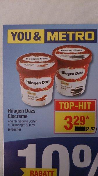 [Lokal? Weiterstadt][METRO] Häagen-Dazs 500ml für 3,52€ (oder 3,29)