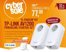 TP-Link Powerline Kit + AC-WLAN Repeater (Cashback) @ cyberport