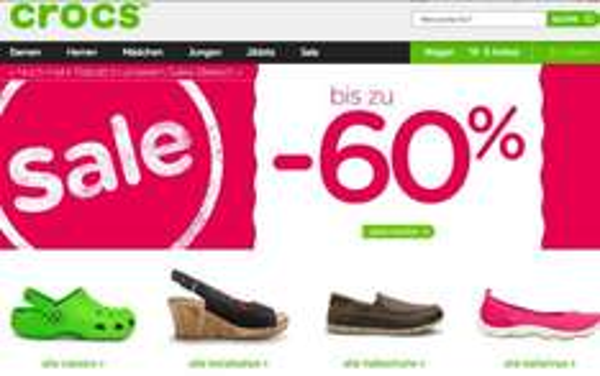 Crocs bis zu 60% auf Sale, zusätzlich 5%Gutschein+5% Qipu