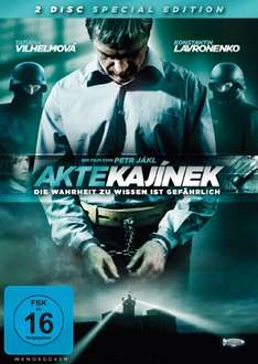 Amazon Prime : DVD Akte Kajinek [Special Edition] [2 DVDs] Nur 2,97 €