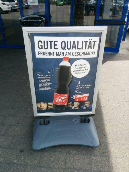 [Lidl bundesweit] Freeway Cola 15% Reduziert Probierpreis - 0,33€ je 1,5L