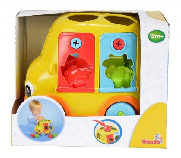 [Amazon-Prime] Simba 104012309 - ABC Sortierauto mit Schlüssel