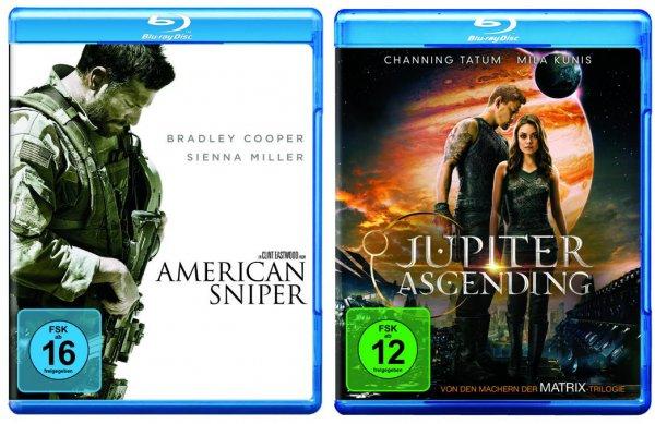Saturn Neu Isenburg: Jupiter Ascending & American Sniper als BluRay für je 11,69€ (nur am 25.06.)