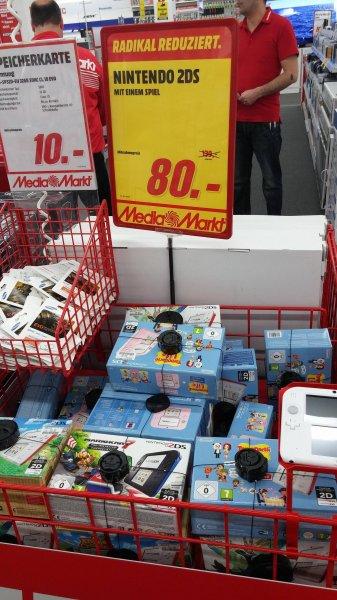 [Media Markt Hannover Wülfel] Nintendo 2DS verschiedene Bundles 80 Euro (u. A. Pokémon X, Mario Kart 7)
