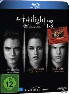 Die Twilight Saga 1-3 - Was bis(s)her geschah Bluray Box (BLU-RAY)