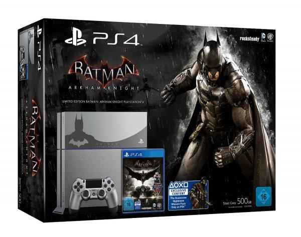 (Amazon.de) PlayStation 4 500gb - Limited Edition Batman Arkham Knight Design - exklusiv bei Amazon für 399€