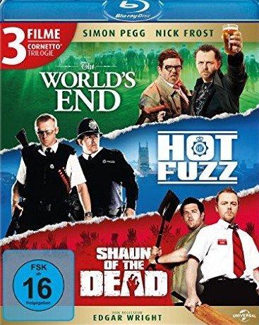 [Media-Dealer] Cornetto Trilogie (Blu-ray)/ World´s End,Hot Fuzz,Shaun of the Dead für 13,89€ inc Versand