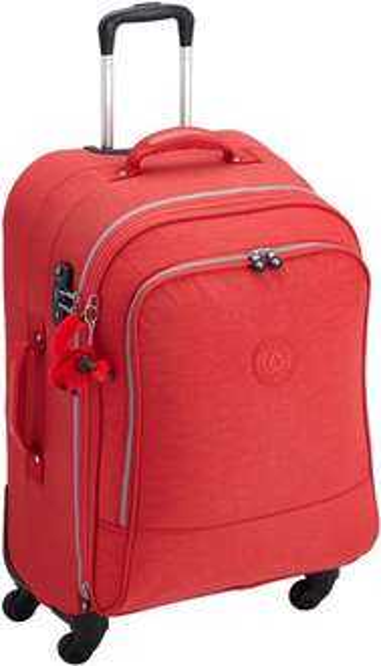 Kipling Rollkoffer Yubin Spin 69 bis 74 Liter in rot für 69,47 € @Amazon statt UVP 209,90 € / 146,93 € @Kipling
