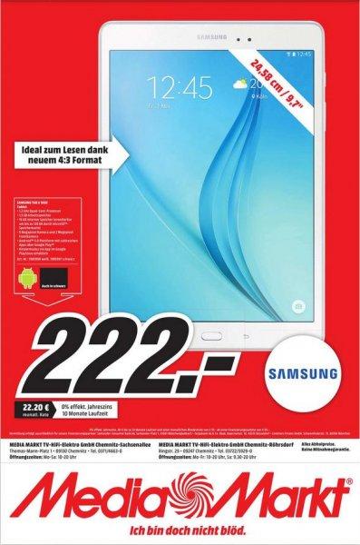 [Lokal Chemnitz] Samsung Galaxy Tab A T550N 24,6 cm (9,7 Zoll) WiFi Tablet-PC (Quad-Core, 1,2 GHz, 16 GB, Android 5.0) für 222€