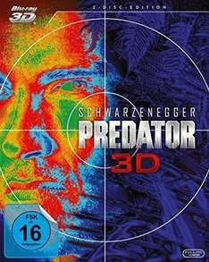 Amazon Prime: Predator - 3D-Blu-ray für 14.97