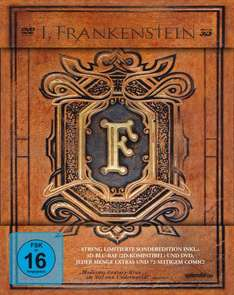 I, Frankenstein - Mediabook [3D Blu-ray] [Limited Edition] für 13€ @Media Markt