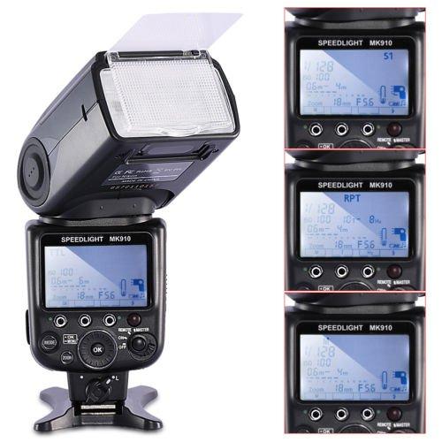Neewer (alias Meike) MK910 Aufsteckblitz für Nikon mit HSS, CLS, AWL