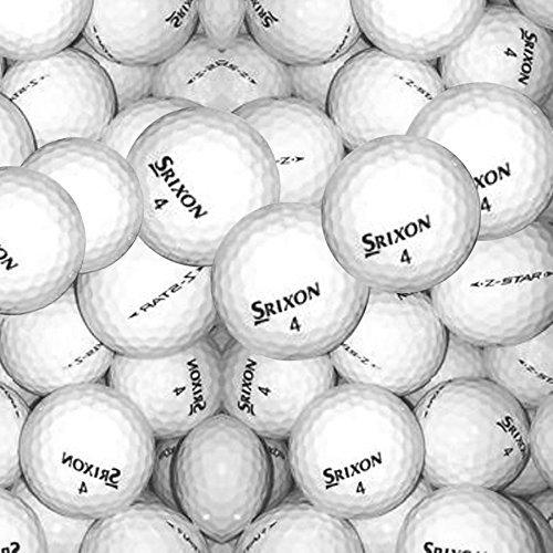 100 Srixon Z Star Grade B Golfbälle in weiß @Amazon Marketplace für 58,23 €