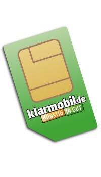 Klarmobil D2 - 24 Monate 100Min / 100SMS / 400MB mit 7,2 Mbit/s für 3,95€/Monat (kein LTE)