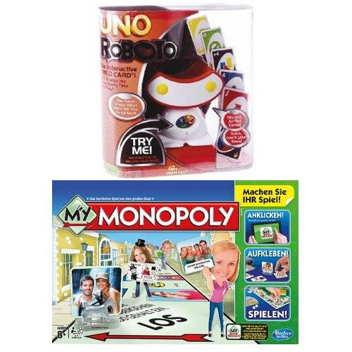 [ROSSMANN] My Monopoly für 3,10€ bzw. 2,89€ // Uno Rocking Robot für 9,99€ / 8,99€