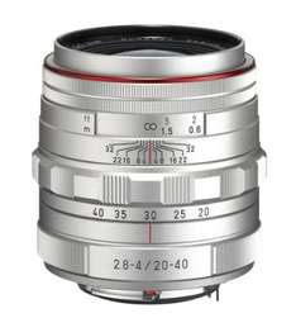 Pentax 20-40 mm / F 2,8-4,0 HD DA ED LIMITED DC WR Objektiv silber für 579,94 € @Amazon.fr