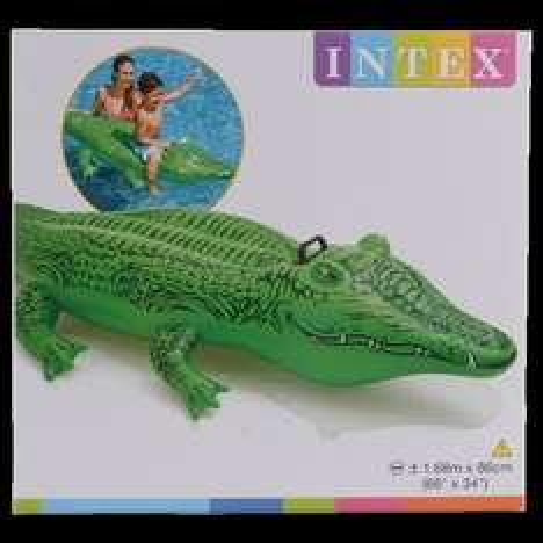 [Lokal bei Action] Aufblasbares Krokodil