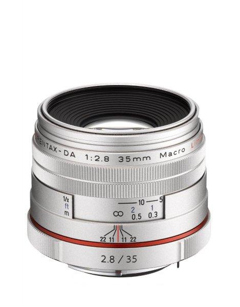 Pentax 35mm 1:2,8 Macro Limited HD DA Silber für 437,84 € @Amazon.fr