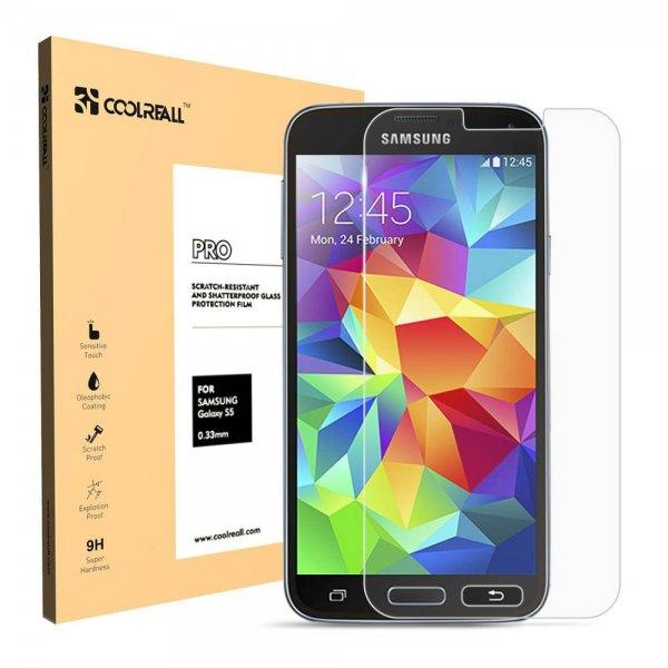 [Amazon.de] Samsung Galaxy S5 Panzerglas kostenlos von Coolreall