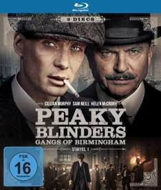 (Amazon.de / Prime) Peaky Blinders - Gangs of Birmingham - Staffel 1 [Blu-ray]