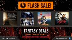 @PSN US Fantasy Flash Sale im Playstation Store (u.a. mit Lego The Hobbit, Game of Thrones) für PS3, PS4 und PS Vita